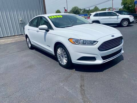 2014 Ford Fusion Hybrid for sale at Used Car Factory Sales & Service Troy in Troy OH