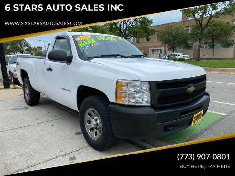 2011 Chevrolet Silverado 1500 for sale at 6 STARS AUTO SALES INC in Chicago IL