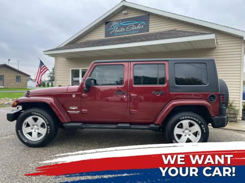 2010 Jeep Wrangler Unlimited for sale at Allen's Auto Sales in Saint Louis MI