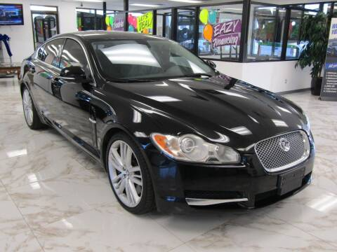 2010 Jaguar XF for sale at Dealer One Auto Credit in Oklahoma City OK