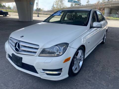 2012 Mercedes-Benz C-Class for sale at Bay Auto Exchange in San Jose CA