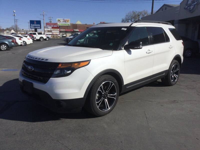 2015 Ford Explorer for sale at Beutler Auto Sales in Clearfield UT