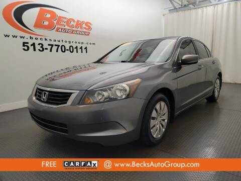 2008 Honda Accord for sale at Becks Auto Group in Mason OH