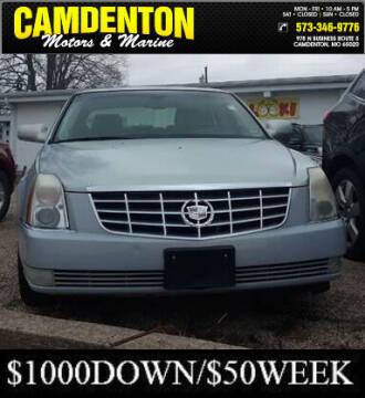 2006 Cadillac DTS for sale at Camdenton Motors & Marine in Camdenton MO