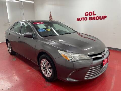 2015 Toyota Camry for sale at GOL Auto Group in Austin TX