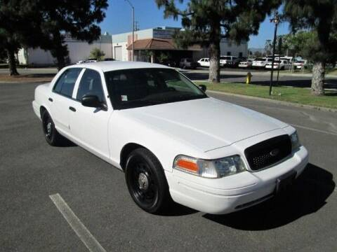 2007 Ford Crown Victoria for sale at Wild Rose Motors Ltd. in Anaheim CA