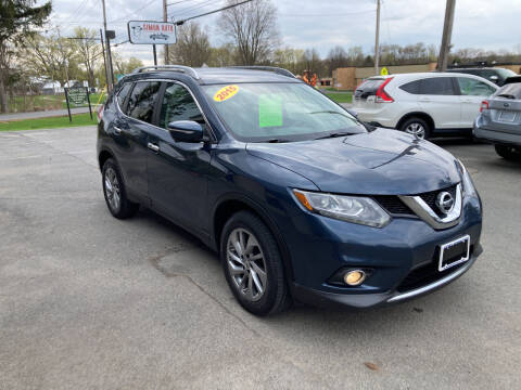2015 Nissan Rogue for sale at JERRY SIMON AUTO SALES in Cambridge NY