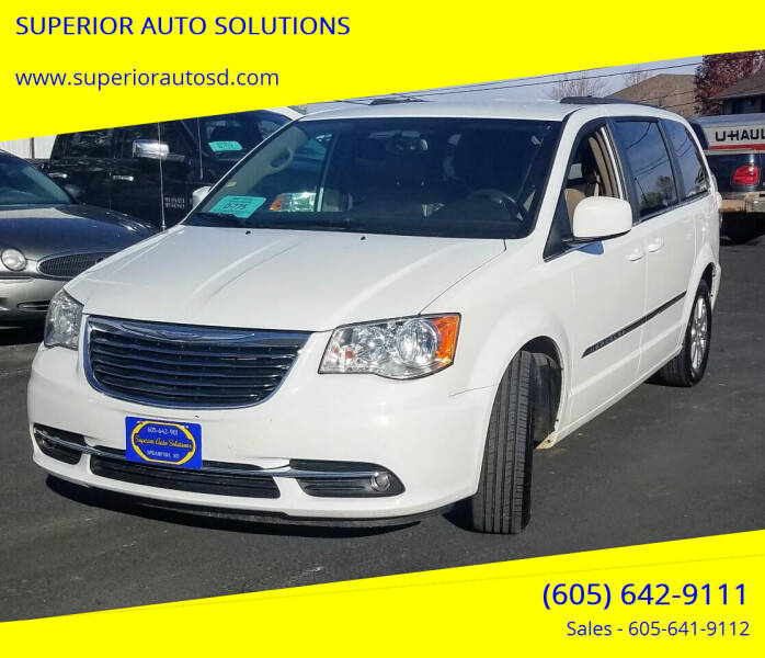 2015 Chrysler Town and Country for sale at SUPERIOR AUTO SOLUTIONS in Spearfish SD