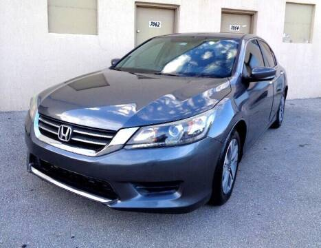 2014 Honda Accord for sale at Selective Motor Cars in Miami FL