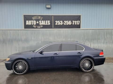 2004 BMW 7 Series for sale at Austin's Auto Sales in Edgewood WA