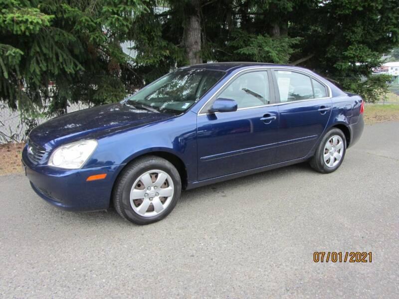 2007 Kia Optima for sale at B & C Northwest Auto Sales in Olympia WA