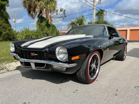 1971 Chevrolet Camaro for sale at American Classics Autotrader LLC in Pompano Beach FL
