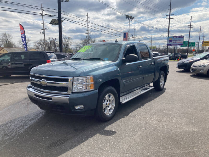 2009 Chevrolet Silverado 1500 for sale at Majestic Automotive Group in Cinnaminson NJ