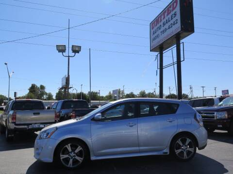 2009 Pontiac Vibe for sale at United Auto Sales in Oklahoma City OK