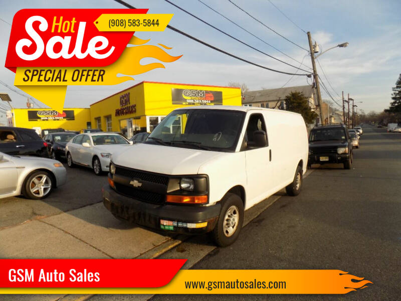 2008 Chevrolet Express Cargo for sale at GSM Auto Sales in Linden NJ