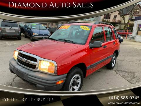 2003 Chevrolet Tracker for sale at Diamond Auto Sales in Milwaukee WI