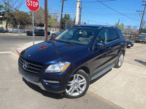 2015 Mercedes-Benz M-Class for sale at West Coast Motor Sports in North Hollywood CA