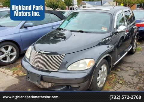 2004 Chrysler PT Cruiser for sale at Highland Park Motors Inc. in Highland Park NJ