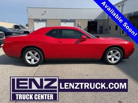 2014 Dodge Challenger for sale at LENZ TRUCK CENTER in Fond Du Lac WI