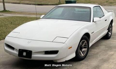 1991 Pontiac Firebird for sale at Matt Hagen Motors in Newport NC