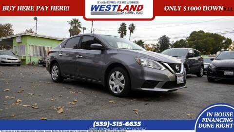 2016 Nissan Sentra for sale at Westland Auto Sales on 7th in Fresno CA
