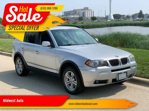 2006 BMW X3 for sale at Midwest Auto in Naperville IL