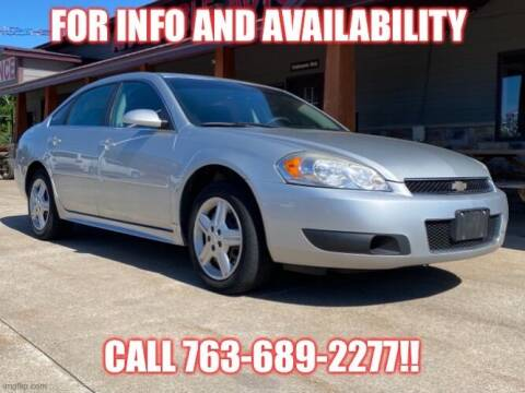 2012 Chevrolet Impala for sale at Affordable Auto Sales in Cambridge MN