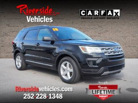 2018 Ford Explorer for sale at Riverside Mitsubishi(New Bern Auto Mart) in New Bern NC