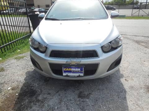 2015 Chevrolet Sonic for sale at SCOTT HARRISON MOTOR CO in Houston TX
