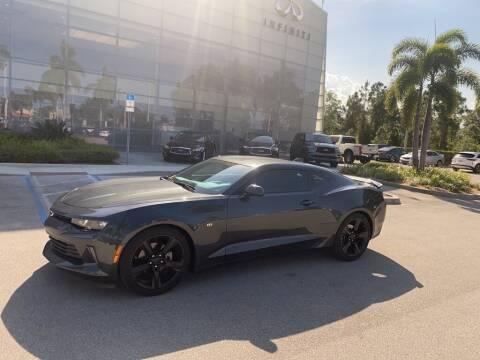 2018 Chevrolet Camaro for sale at Infiniti Stuart in Stuart FL