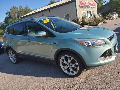 2013 Ford Escape for sale at Reliable Cars Sales in Michigan City IN