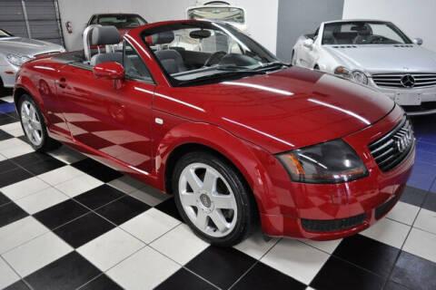 2001 Audi TT for sale at Podium Auto Sales Inc in Pompano Beach FL