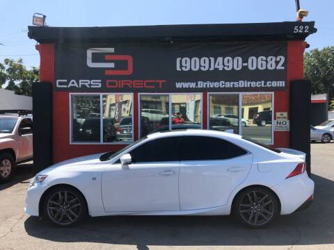 2016 Lexus IS 200t for sale at Cars Direct in Ontario CA
