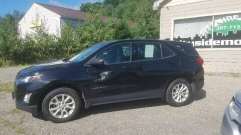 2018 Chevrolet Equinox for sale at CITY SIDE MOTORS in Auburn ME