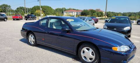2001 Chevrolet Monte Carlo for sale at Kelly & Kelly Supermarket of Cars in Fayetteville NC