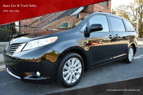 2013 Toyota Sienna for sale at Apex Car & Truck Sales in Apex NC