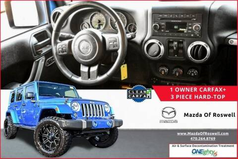 2016 Jeep Wrangler Unlimited for sale at Mazda Of Roswell in Roswell GA