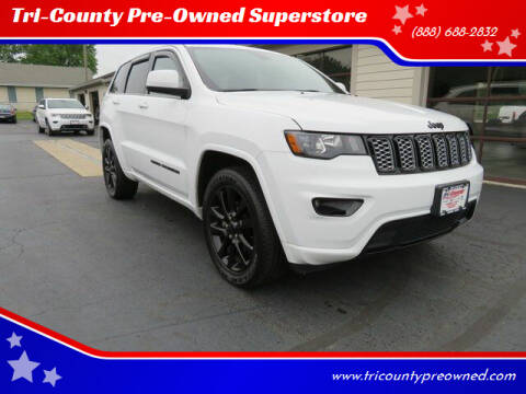 2018 Jeep Grand Cherokee for sale at Tri-County Pre-Owned Superstore in Reynoldsburg OH