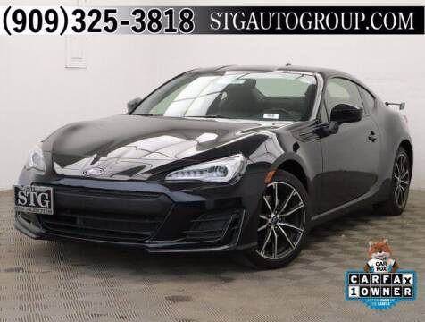 2017 Subaru BRZ for sale at STG Auto Group in Montclair CA