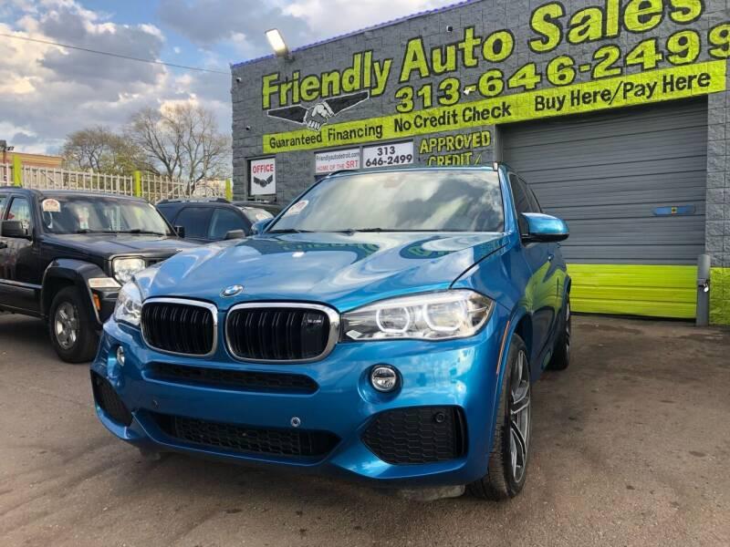 2016 BMW X5 M for sale at Friendly Auto Sales in Detroit MI