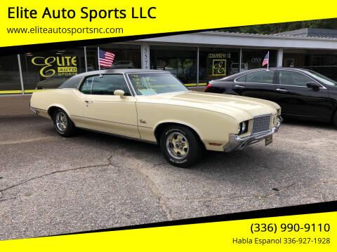 1972 Oldsmobile Cutlass Supreme for sale at Elite Auto Sports LLC in Wilkesboro NC