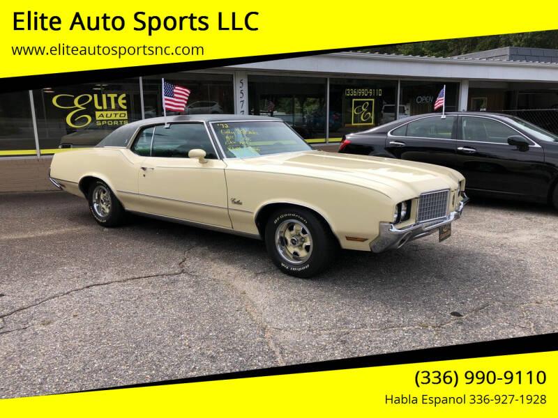 1972 Oldsmobile Cutlass Supreme for sale at Elite Auto Sports LLC in Wilkesboro NC