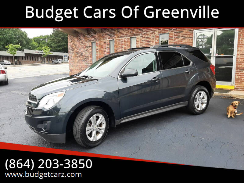2012 Chevrolet Equinox for sale at Budget Cars Of Greenville in Greenville SC