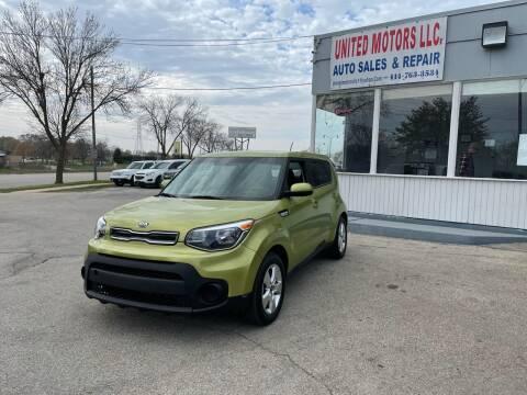 2018 Kia Soul for sale at United Motors LLC in Saint Francis WI