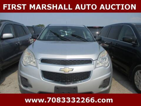 2011 Chevrolet Equinox for sale at First Marshall Auto Auction in Harvey IL