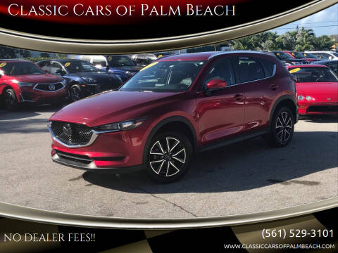 2018 Mazda CX-5 for sale at Classic Cars of Palm Beach in Jupiter FL