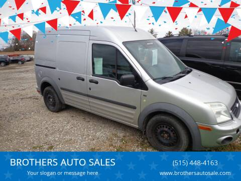 2012 Ford Transit Connect for sale at BROTHERS AUTO SALES in Eagle Grove IA