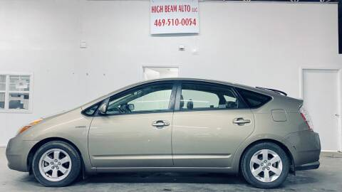 2007 Toyota Prius for sale at High Beam Auto in Dallas TX