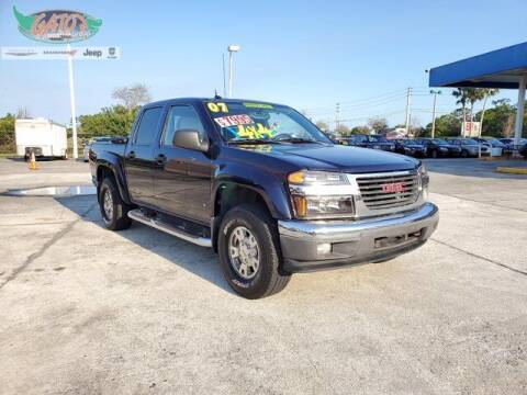 2007 GMC Canyon for sale at GATOR'S IMPORT SUPERSTORE in Melbourne FL