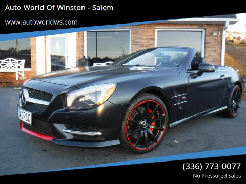 2016 Mercedes-Benz SL-Class for sale at Auto World Of Winston - Salem in Winston Salem NC
